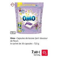 Lessive en Capsules Omo chez Intermarché (28/01 – 02/02)