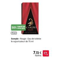 Parfum Scorpio chez Intermarché (21/01 – 26/01)