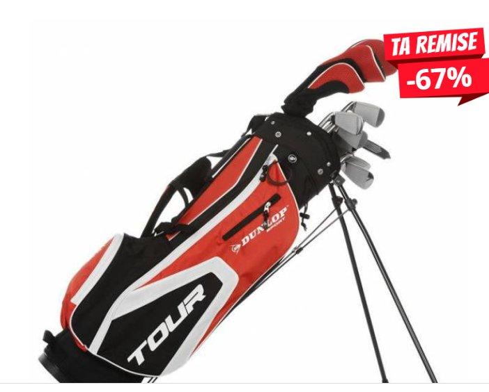 99,99€ le set de golf 16 pieces Dunlop