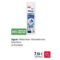 Brossettes pour Brosse à Dents Electrique Signal chez Intermarché (21/01 – 26/01)