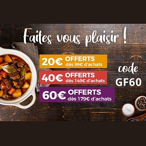 Toupargel : Jusqu'à 60€ Offerts