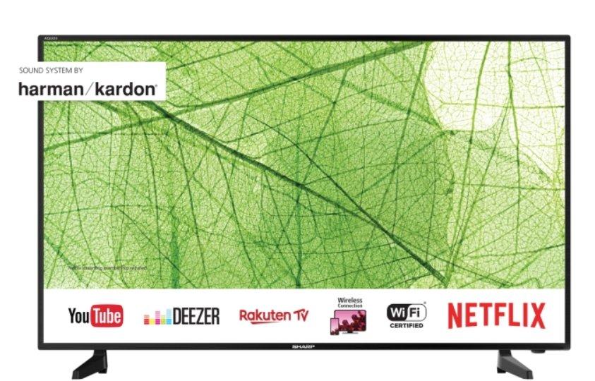 TV 4K 40 pouces Sharp 40AJ2E à 250€