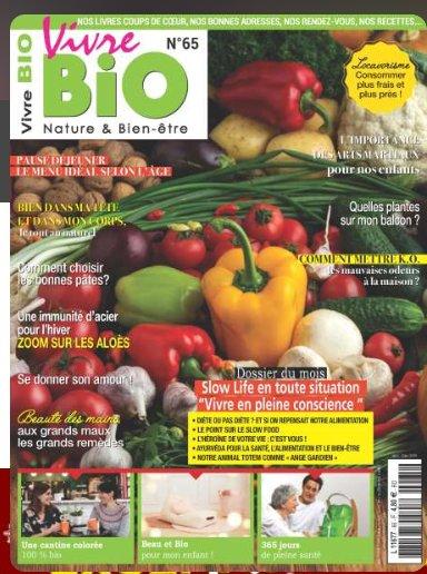 Abonnement magazine Vivre Bio à 15€ au lieu de 48
