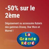 Offre de Remboursement Rubie's / La Grande Récré : 50% sur le 2ème Déguisement Carnaval - anti-crise.fr