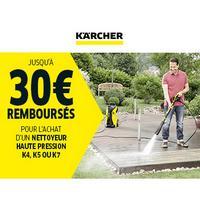 Offre de Remboursement Kärcher : Jusqu'à 30€ Remboursés sur Nettoyeur Haute Pression