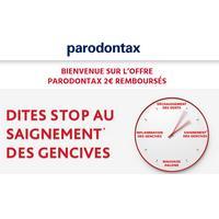 Offre de Remboursement Parodontax : 2€ Remboursés pour l'achat de 2 produits