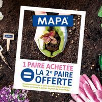 Offre de Remboursement Mapa : 2ème Paire de Gants de Jardin 100% Remboursée
