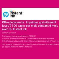 Bon Plan hp : 1 Imprimante HP Deskjet Acheté = 6 Mois d'Impression Offerts
