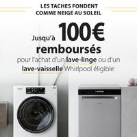 Offre de Remboursement Whirlpool : Jusqu'à 100€ Remboursés sur Lave-Linge ou Lave-Vaisselle - anti-crise.fr