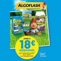 Offre de Remboursement Algoflash : Jusqu'à 18€ Remboursés sur Produit Gazon