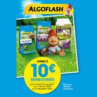 Offre de Remboursement Algoflash : Jusqu'à 10€ Remboursés sur Produit Gazon