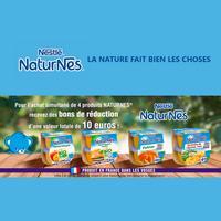 Offre de Remboursement Nestlé : 4 Produits Naturnes Achetés = 10€ Remboursés en BR