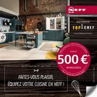 Offre de Remboursement NEFF : Jusqu'à 500€ Remboursés