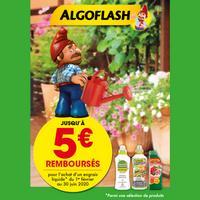 Offre de Remboursement Algoflash : Jusqu'à 5€ Remboursés sur Engrais Liquide