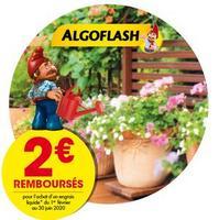 Offre de Remboursement Algoflash : Jusqu'à 2€ Remboursés sur Engrais Liquide
