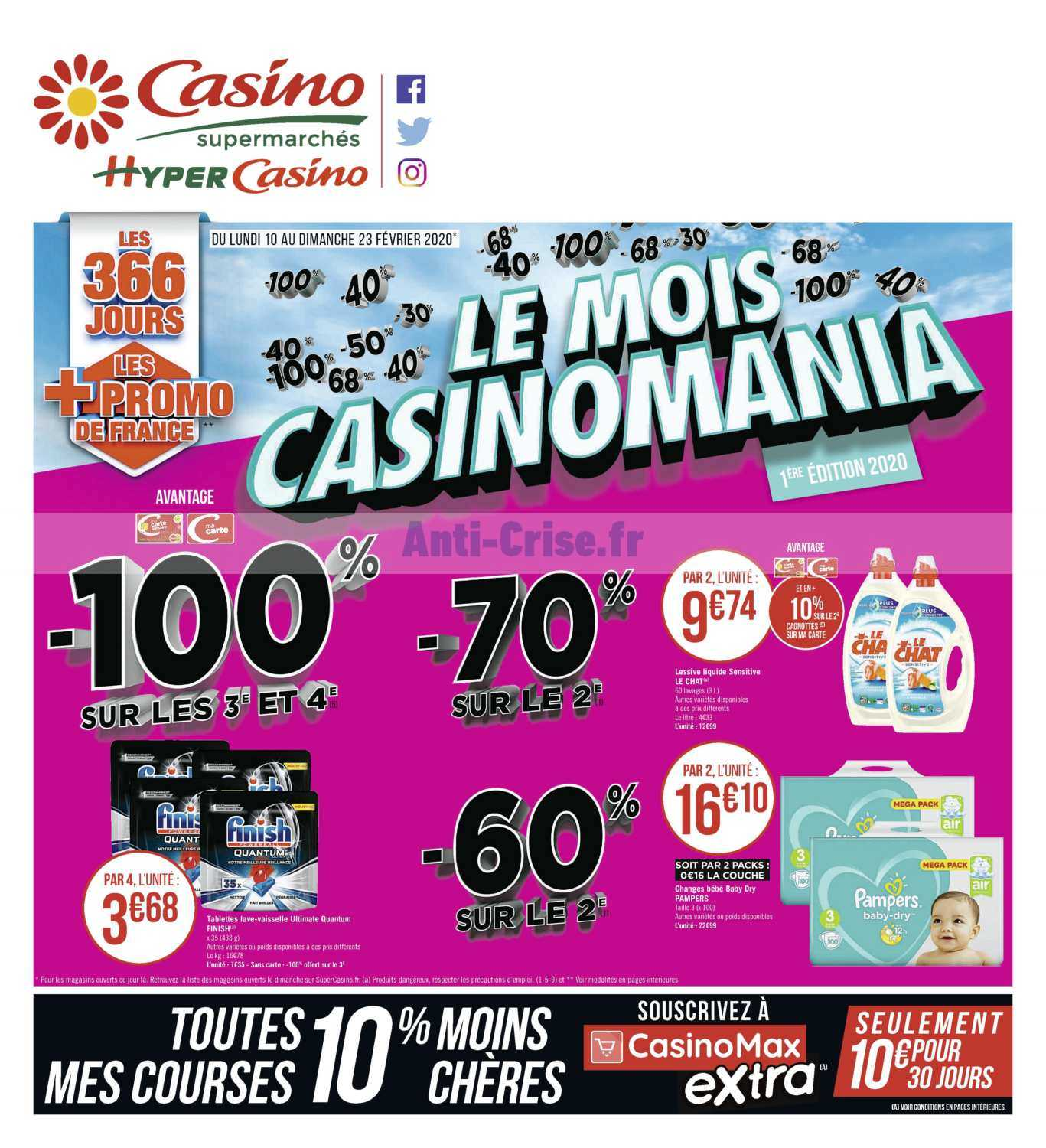 Catalogue Casino du 10 au 23 février 2020