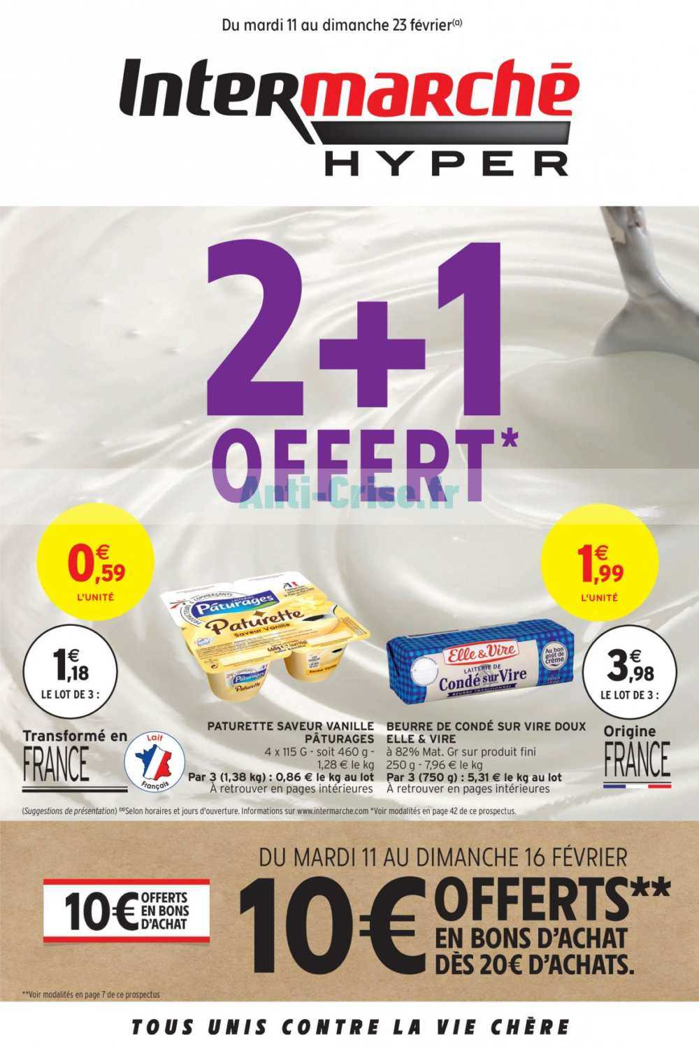 Catalogue Intermarché du 11 au 23 février 2020 (Version Hyper)