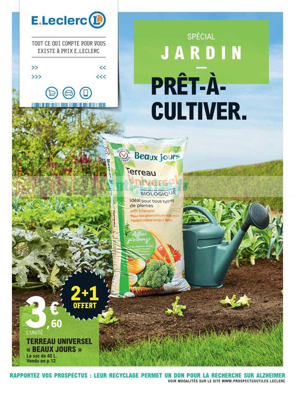 Catalogue Leclerc Du 11 Au 29 Fevrier 2020 Jardin Catalogues Promos Bons Plans Economisez Anti Crise Fr