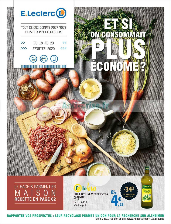 Catalogue Leclerc du 18 au 29 février 2020