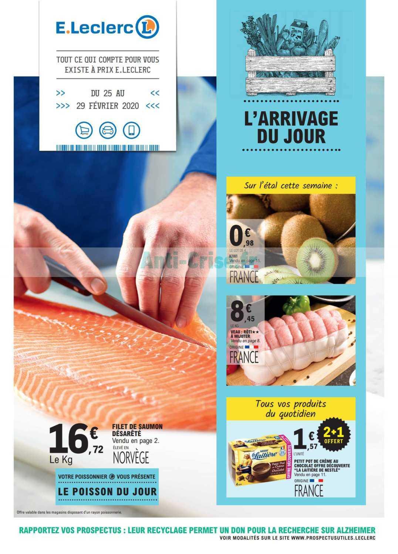 Catalogue Leclerc du 25 au 29 février 2020