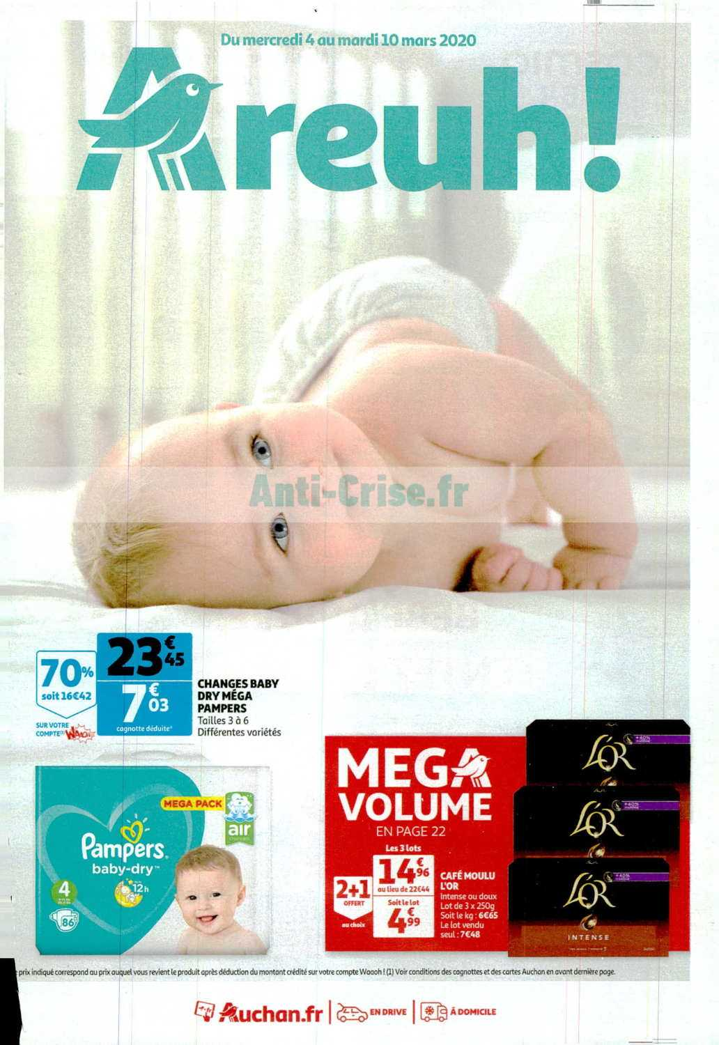 Catalogue Auchan du 04 au 10 mars 2020