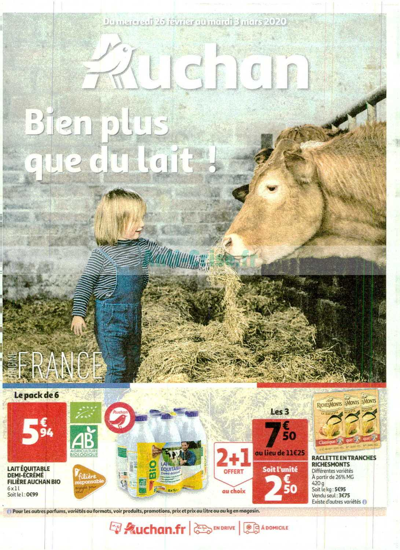 Catalogue Auchan du 26 février au 03 mars 2020