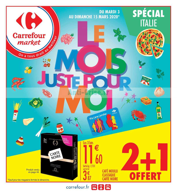 Catalogue Carrefour Market du 03 au 15 mars 2020
