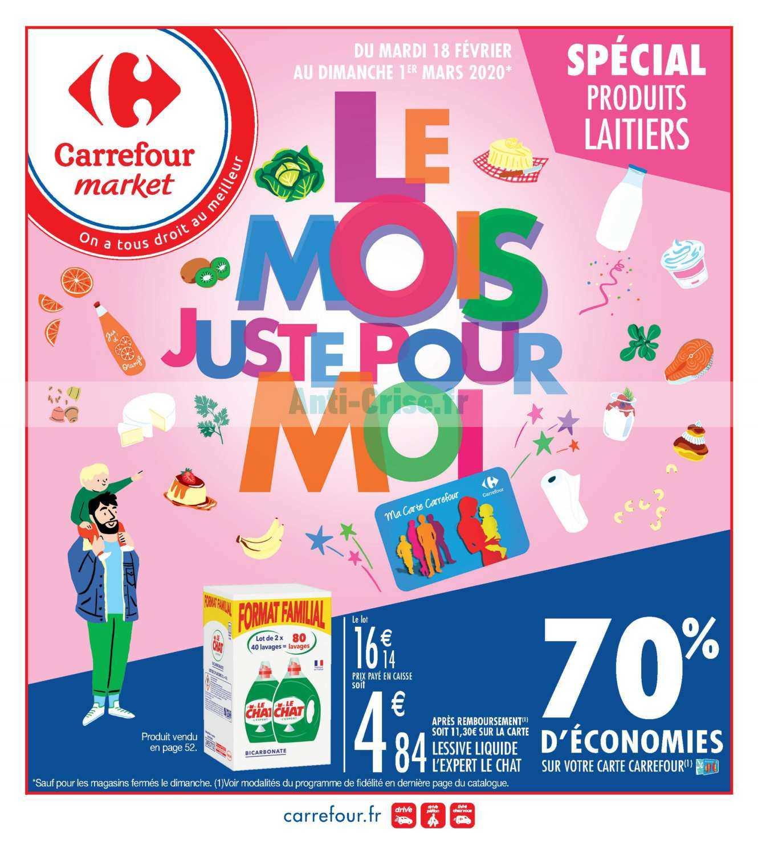 Catalogue Carrefour Market du 18 février au 01 mars 2020 (Le Mois)