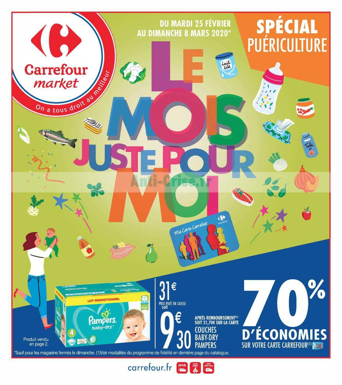 Catalogue Carrefour Market du 25 février au 08 mars 2020