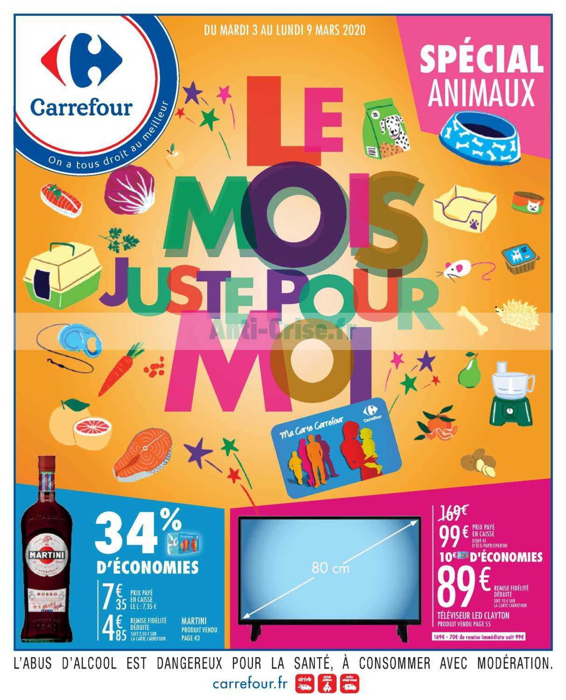 Catalogue Carrefour du 03 au 09 mars 2020