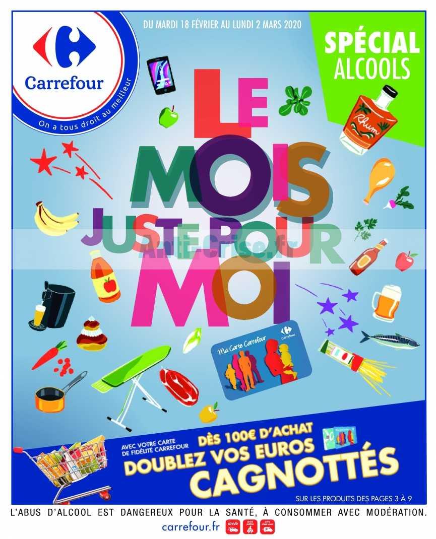 Catalogue Carrefour du 18 février au 02 mars 2020