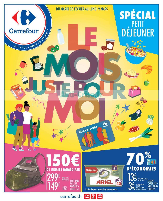 Catalogue Carrefour du 25 février au 09 mars 2020