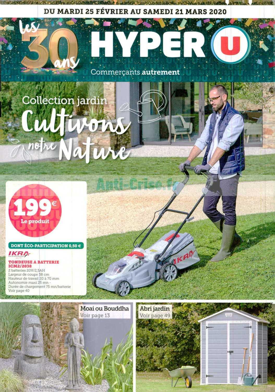 Hyper U Le Nouveau Catalogue Du 25 Fevrier Au 21 Mars 2020 Est Disponible Les Nouvelles Promos