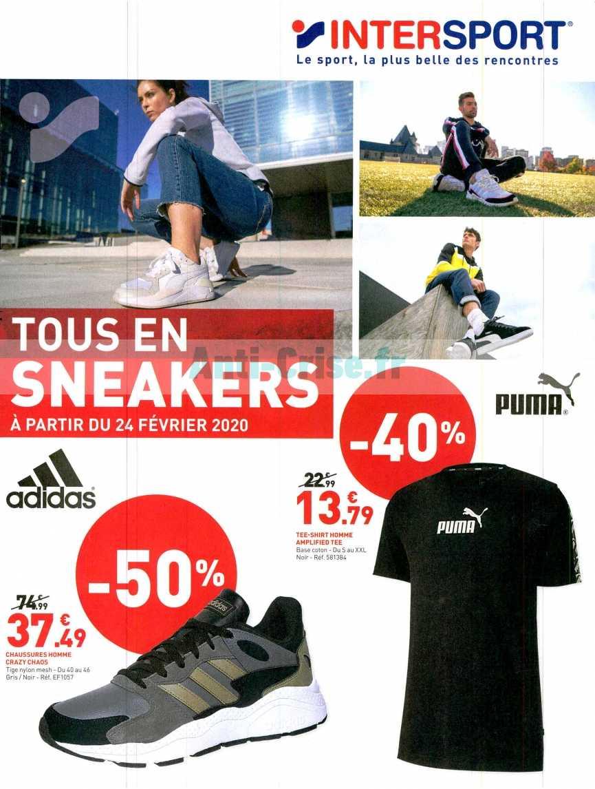 Catalogue Intersport Du 24 Fevrier Au 07 Mars 2020 Catalogues Promos Bons Plans Economisez Anti Crise Fr
