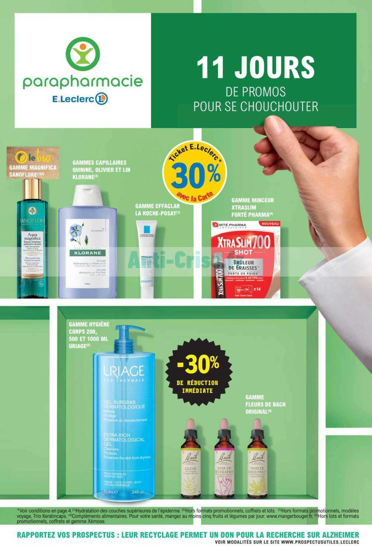 Catalogue Leclerc du 03 au 14 mars 2020 (Parapharmacie ...