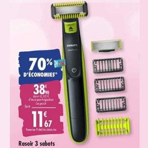Rasoir One Blade Philips chez Carrefour (10/03 – 23/03)