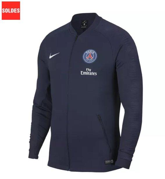 32€ au lieu de 80 la veste Nike PSG ANTHEM TRAINING 18/19