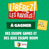 IG AOA Panzani : 50 Escapes Games et 100 Jeux Escape Room