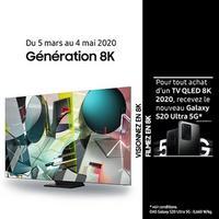 Bon Plan Samsung : 1 TV 8K Achetée = 1 Galaxy S20 Ultra 5G Offert