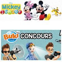 TAS Mickey Junior : Kit d'espion Buki France