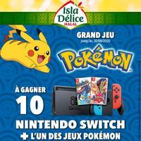 IG + TAS Isla Délice sur FB : Console Nintendo Switch + Jeu Pokémon