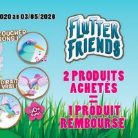 Offre de Remboursement Giochi Preziosi : 2ème Produit Flutter Friends Permanent 100% Remboursé