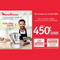 Bon Plan Moulinex : 1 i-companion Acheté = 1 Panier Vapeur Offert