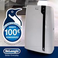 Offre de Remboursement DéLonghi : Jusqu'à 100€ sur Climatiseur Monobloc