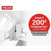 Offre de Remboursement Velux : Jusqu'à 200€ Remboursés