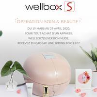 Bon Plan Wellbox : 1 Appareil Nude Acheté = 1 Spring Box LPG