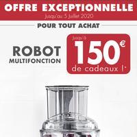 Bon Plan Magimix : Jusqu'à 150€ de Cadeaux pour l'achat d'un Robot Multifonction