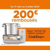 Offre de Remboursement Kenwood : 200€ Remboursés sur Robot CookEasy+