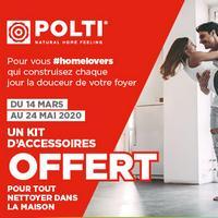 Bon Plan Polti : 1 Nettoyeur Acheté = 1 Kit d'Accessoires Offert