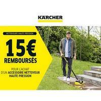 Offre de Remboursement Kärcher : 15€ Remboursés sur Accessoire Nettoyeur